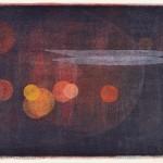鈴木雅弘/SUZUKI masahiro:宙の静物 48×63 凸版・ステンシル