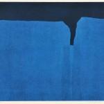 宮本典刀/MIYAMOTO noriwaki:時の化石(A) 36.5×50 銅版