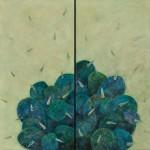 西野雅子/NISHINO masako:Window box挽歌 194×194 ミクストメディア