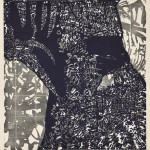 田中洋子/TANAKA yoko:Contemplation 2 64×60 木版