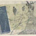 加藤照夫 / KATO teruo:逍遥 42×60 銅版