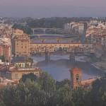 羽田 裕/HADA hiroshi:Ponte Vecchio P50 油彩