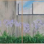 花房このみ/HANABUSA konomi:夏至のころ 130×194 油彩