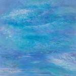 御舩テル子/MIFUNE teruko:雲の浪立ちⅣ S100 油彩
