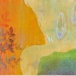 市川咲子 / ICHIKAWA sakiko:凪 83.5×111.5 木版