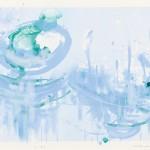 清水美三子/SHIMIZU misako: 水の景色 47×68 平版