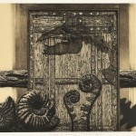 柴田昌一/SHIBATA shoichi:Time & Spase(パラオパラドキシア) 48×70 銅版