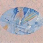 彦坂章子/HIKOSAKA akiko:鼓動する楕円 F80 油彩
