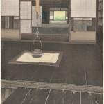 【奨励賞】稲継次郎/INATSUGU jiro:むかし邸宅 備中高梁 78×60 木版