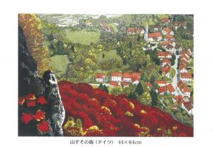 桐野幸子木版画展