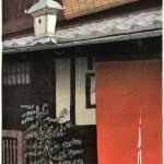 稲継 次郎/INATSUGU jiro:祇園新橋 80×60 木版
