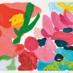山田 麻意/YAMADA mai :花は咲く 38×45 凹版