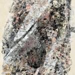 西松 サチ子/NISHIMATSU sachiko:New Yowk(15-1) 67×50.5 孔版・シルクスクリーン・エンボス
