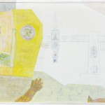稲垣 宥/INAGAKI yutaka: 机上「少し輝きを取り戻す僕とそら」 F120 ミクストメディア