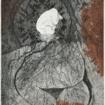 大上 吉成/OUE yoshinari:宝 No1 40×30 銅版