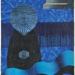 後藤 圭介/GOTO keisuke:オマージュK(1) 56×42 木版