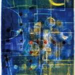 田川 加代子/TAGAWA kayoko:深夜の歌 86×66 平版