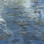 浜中 節子/HAMANAKA setsuko:流れて澱んで又流れる F100 油彩