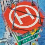 能戸 康次/NOTO koji:海洋工事回想15-2 搭載 F100 水彩