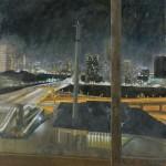 松島 征一郎/MATSUSHIMA seiichiro :不安な夜Ⅰ S100 油彩