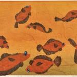 成田 郷子/NARITA kyoko:華麗なる一族エルドラドをめざす 80×100 木版