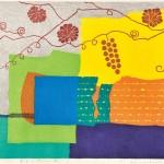 市川 有子/ICHIKAWA yuko:浮かぶ '97-65 52×68 木版