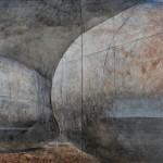 石田 勤一/ISHIDA kinichi :時の湊 162×260 油彩