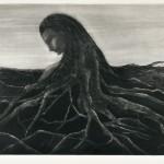 船戸 郁子/FUNATO ikuko:はじまりの記憶Ⅳ 39×59.5 銅版