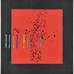 舩坂 芳助/FUNASAKA yoshisuke:My Space and My Dimension. MM 128. 66×63 木版・孔版