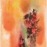 松島 順子/MATSUSHIMA junko:ひびき 90×60 平版