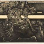 柴田 昌一/SHIBATA shoichi:「Time and Space」'15A 53.5×78 銅版