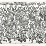 大野 弘道/ONO hiromichi:Festival.15-2 36.5×54 銅版・エッチング