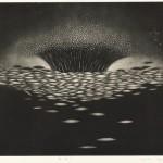 藤本 清子/FUJIMOTO kiyoko:風溜り 29.8×45.3 銅版