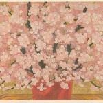 関野 洋作/SEKINO yosaku:さくら 52×82 木版・gold leaf