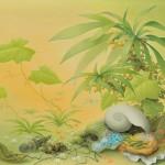 松宮 直子/MATSUMIYA naoko:緑風のしらせ F120 油彩