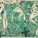 伊藤 龍作/ITO ryosaku:浮遊・夢物語 45×60 木版
