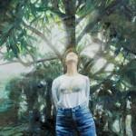 木本 惠子/KIMOTO keiko:泰山木とS F100 油彩