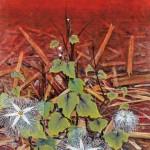 関根 正二/SEKINE masaji:こわれた街に花は咲くⅠ 164×114 油彩