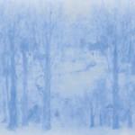 寺崎 慶子/TERASAKI yoshiko:青の夢(2) F100 油彩
