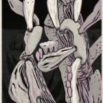 和田林 志保/WADABAYASHI shiho:close to you No.1 90×45 木版