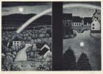塩田恵/SHIOTA megumi : A VIEW of a moment(C) 28×40 銅版・メゾチント