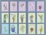 五十嵐美代子/IGARASHI miyoko : 野の花シリーズ(2) 73×97 ミクストメディア