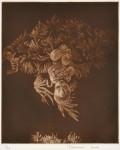 大上吉成/OUE yoshinari : いのちの輝き No1 42×34 銅板
