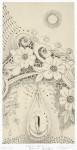 竹田智美/TAKEDA satomi : 彼女の泪、彼女の歳月 35.8×18.3 銅版