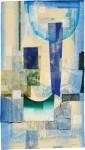 ウチダヨシエ/UCHIDA yoshie : 交響曲 116×66 木版・孔版