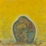 高野考太郎/TAKANO kotaro : UZUKUMALU 117×117 アクリル
