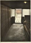 稲継次郎/INATSUGU jiro : 近江八幡商家 58×41 木版