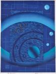 後藤圭介/GOTO keisuke : 海神(40) 56×42 木版