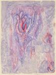 赤塚美子/AKATSUKA yoshiko : Work-1 2016 47.5×35.5 水性木版