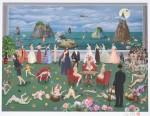 中島白翔/NAKAJIMA hakusho : 極楽浄土という名のホテル 36×48 ジクレー版画